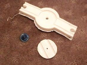 Brio type train track turntable