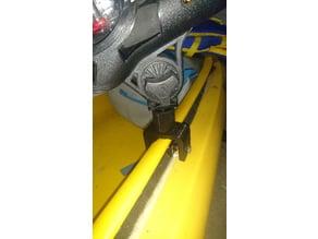 Fishing rod holder clamp V2