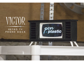 VICTOR - a retro phone dock