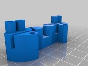 Anet A8 Belt holder and spacer for level sensor