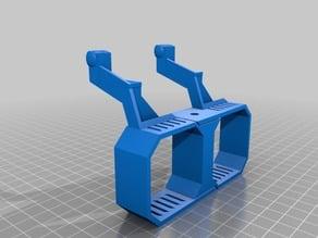 Tevo Tornado dual titan mount with filament guides