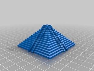 Mayan inspired pyramid 1