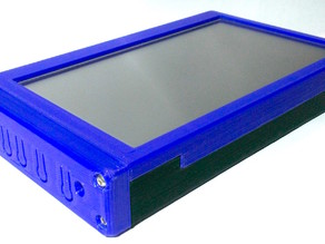 "BigCooter 7"" LCD Touch Display Monitor case"