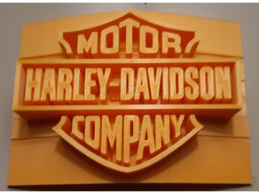 Harley Davidson Logo Soap Dish