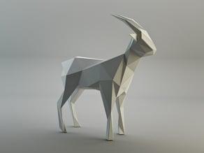 Triangulated goat