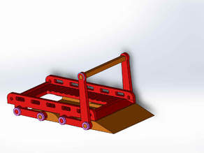Car-lift for diecast models