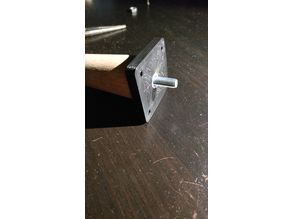M8 screw adapter plate for e.g. IKEA Expedit