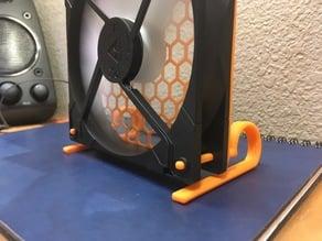 Wicked Quiet Desk Fan Vibration Absorbing Legs - fits 80mm and 120mm Case Fans
