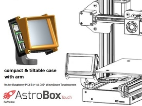 "Case Model ""Operating Panel"" for AstroBox Touch"