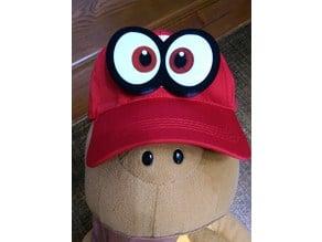 Mario-Odyssey Cappy Eyes brooch