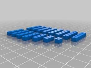Amiga 1000 Rejuvenator Pin Spacers