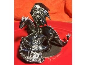 Scourge the Shadow Dragon miniature
