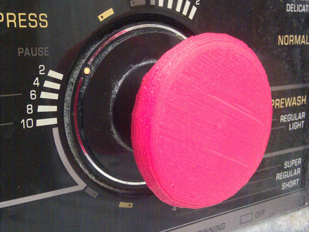 Washer Knob Button
