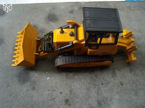 Bulldozer Majorette 1/56e shovel mechanism repair kit