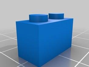 2x1 Adjustable Lego-like Brick