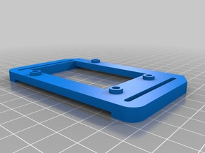 Arduino adapter for Chassis for Drawing Bot with Batt Holders