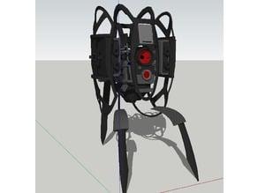 Defective Portal 2 Turret