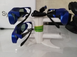 3d glasses charging stand