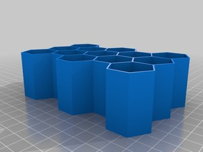 5x3 1x1.5 inch Parametric Honeycomb containers