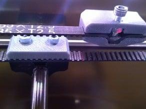 Redesigned belt tensioner for Vertex Velleman K8400
