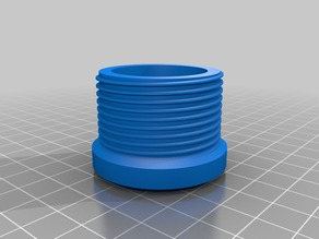 Lampshade mount adapter - slip to threaded