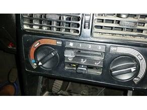 Fiat Uno 93 Air adjustment lever