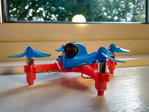 X-26 Evo: Brushed Micro Racing & Freestyle Quadcopter Drone & Tiny Whoop Conversion Frame