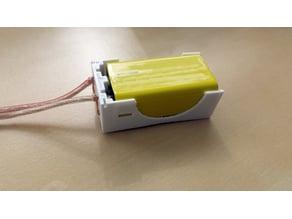 9v battery case