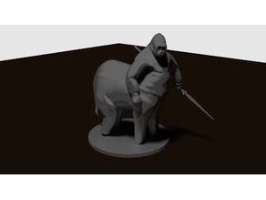 Gorillaphantaur (28mm scale)