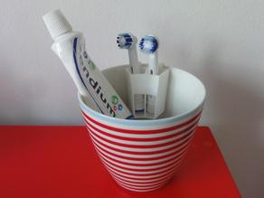 Electric Toothbrush Head Holder for Cup