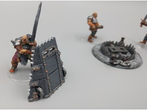 Mantlet - Dragon Hunters - 28mm gaming