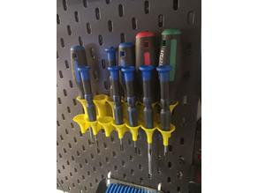 Screwdriver holder for Skadis