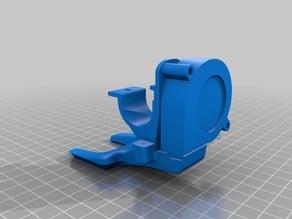 Robo 3d R1 blower fan mount for e3d v6