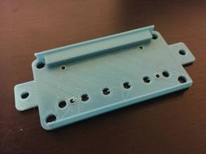 Humbucker Baseplate PAF Spacing 49mm