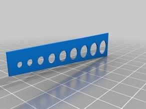 circle drawing tool ø2.5 - 10mm