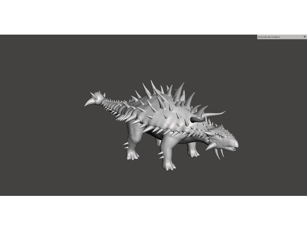 Anklyo from Ark Survival Evolved by Frankinstine - Thingiverse