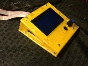 LCD screen Case for Ramps Reach3dPrinters