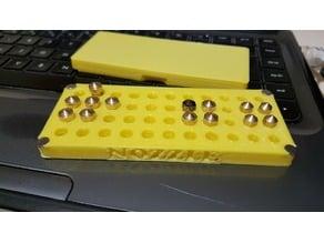 Nozzle box magnet - 32xM6 + 12xM5