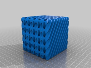 Honeycomb Pencil Holder 2 Different Angles