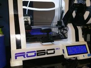 ROBO 3D Logo Cover- Reprapdiscount Smart LCD Controller XXL
