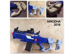 Nerf Longshot Adjustable Stock