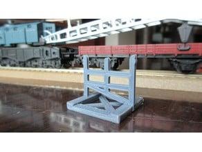 Kleinbahn crane wagon arm support