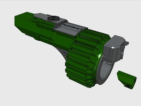 3D Printable Nerf Gauntlet - Falconer MK II