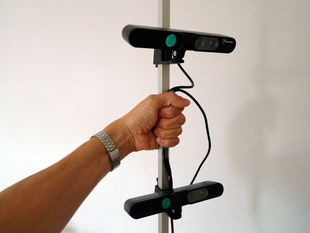 Easy Portable 3D-Scanner Array