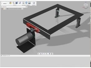G3D T1000 dlp printer enhanced VAT tilting slideway