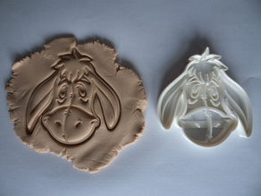 Eeyore cookie cutter