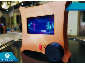 Full graphic smart controller LCD case