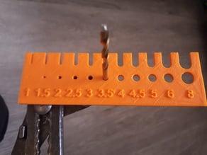 Drill Bits Measurement (millimeter)