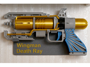 Wall mount for Wingman Death Ray