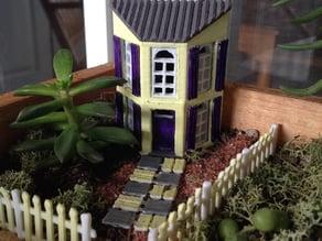 Miniature house mediterranean 5